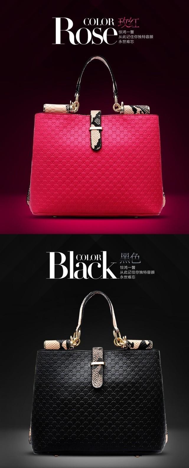 2014 Women Genuine Leather Handbags Shoulder Bags Famous Brand Women