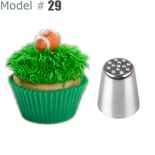 Cake Decorating Tip To Make Grass : 2015 Hot Fashion Grass Hair Icing Piping Nozzle Cupcake ...