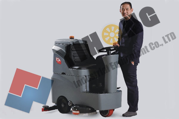 Ride On Automatic Floor Scrubber YHFS-700R