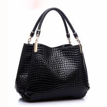 Buy Alligator Leather Women Handbag Bolsas De Couro Fashion luxury handbags women bags Shoulder Bag Ladies Bolsas Femininas Sac for $16.61 in AliExpress store
