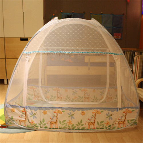 New portable crib baby crib mosquito net floding baby bed for Baby crib net