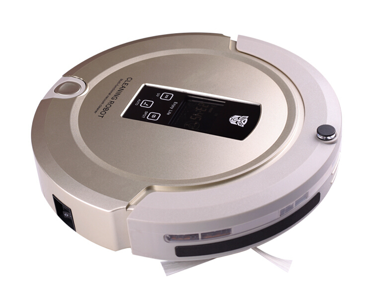 4 In 1 Intelligent Robot Vacuum Cleaner Auto Charging Auto Cleaning and Mopping with Remote Control(China (Mainland))