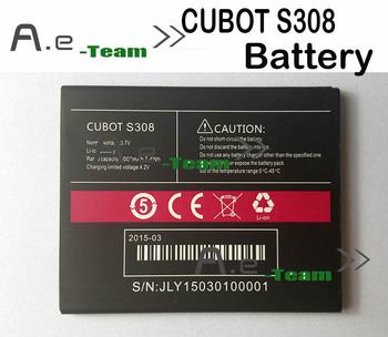 100% Original CUBOT S308 Battery 2000Mah 7.4Wh Lo-ion Mobile Phone Battery Backup S308 Batterie Bateria Free Shipping In Stock