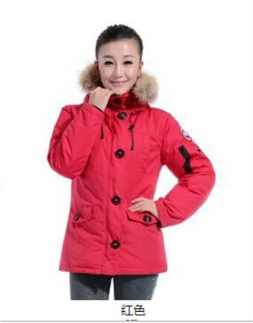 2015 the women's Canada down jacket casual parka winter warm cold wind Windproof For Camping coats free shipping C02(China (Mainland))
