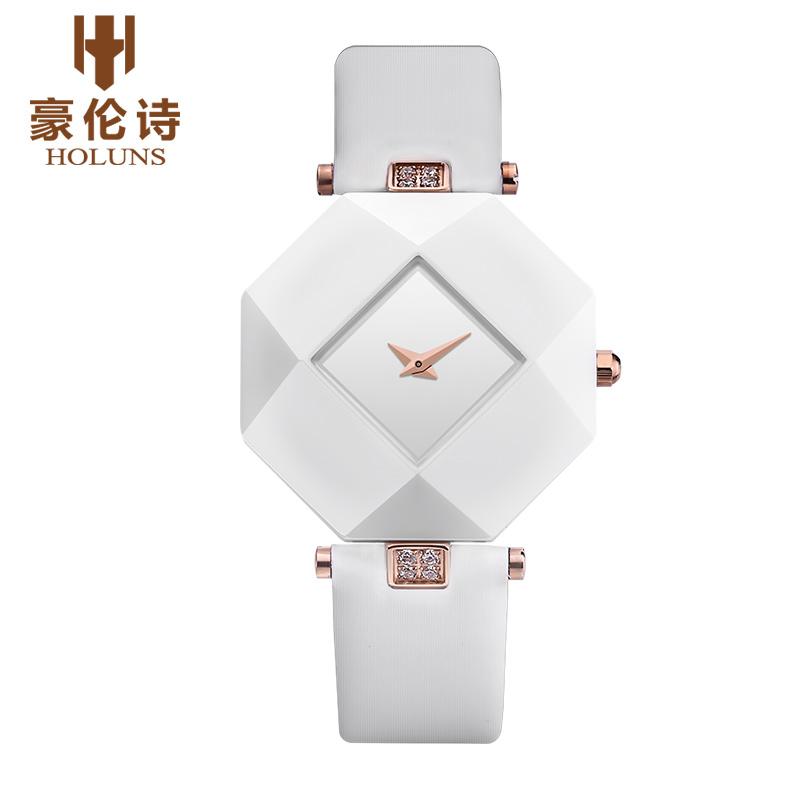 HOLUNS LL003 Watch Geneva Brand ice watches ladies Korean fashion trends women ceramic quartz watch relogio feminino(China (Mainland))