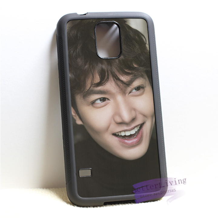 Lee Min Ho 2 fashion cell phone case cover for samsung galaxy S3 S4 S5 S6 S7 Note 2 Note 3 Note 4 #IL0506(China (Mainland))
