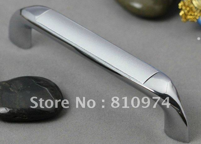 32 Pcs 96mm  Door Pull Dawer Handle Kitchen Cabinet Handle  Sandy White Zinc Alloy
