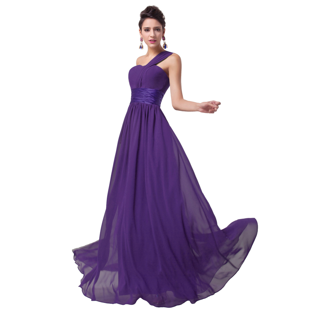 Black Bridesmaid Dresses With Purple: Purple and black prom dresses ...