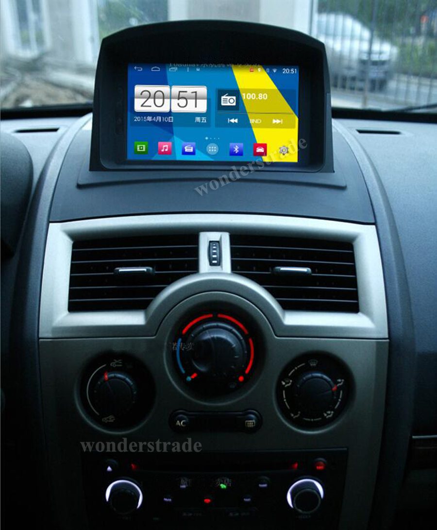 """S160 Quad core 7"""" HD 1024*600 screen Android 4.4 Car DVD GPS navigation Radio Stereo for Reault Megane II 2002-2008 Mirror Link(China (Mainland))"""