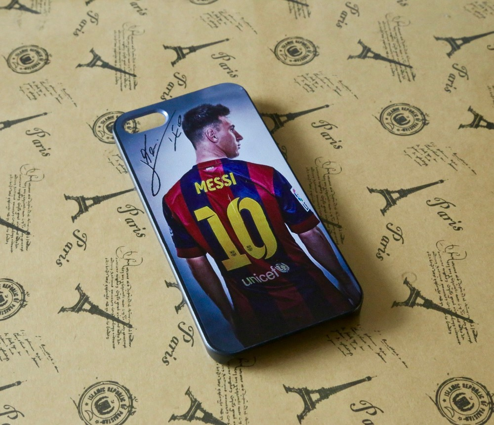 For iphone 7 7Plus Lionel Leo Messi Barcelona back Case Cover For Iphone 5s 5c 5G ,4s 4G & 6G 6S PLUS cell Phone Case Retail
