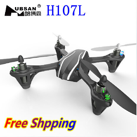 Hubsan X4 H107L 2.4G 4CH 6-axis LED light RC Quadcopter quad copter RTF H107L UFO RC Helicopter Toy(China (Mainland))