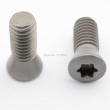 M3.5X6.5 M3.5X8.5 M3.5X9 M3.5X10 M3.5X12 carbide insert torx screws for CNC cutting tools