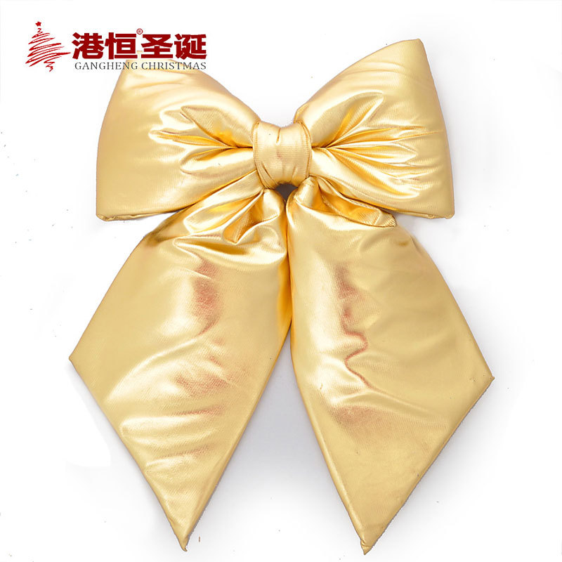 Best quality40x50cm bow Christmas decorations for home door window decoration craft supplies merry Christmas ribbon bow cristmas(China (Mainland))