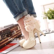 PROMOTION 2013 new fashion wedding / banquet / dance / party  High-heeled shoes/pumps women.High quality red gold pumps(China (Mainland))