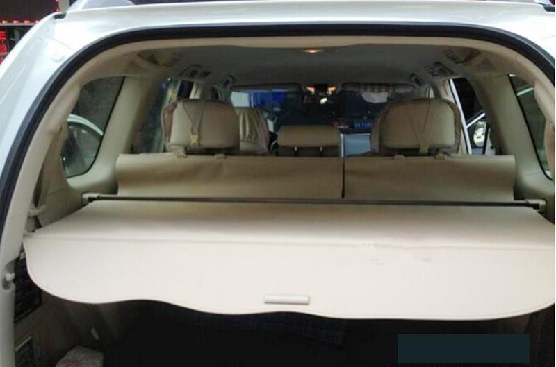 Beige Rear Security Cargo Cover Shade for Toyota Prado Fj150 2014 2015<br><br>Aliexpress