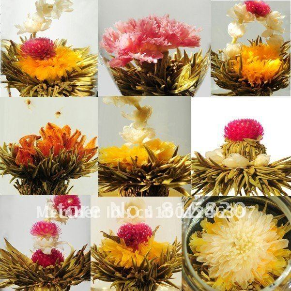 120 Kinds Blooming Flower Tea, Artistic Flower Tea, CK02, Free Shipping<br><br>Aliexpress