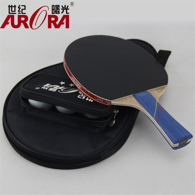 POINT BREAK Students match authentic table tennis single samsung century dawn ping pong rackets wholesale base plate(China (Mainland))