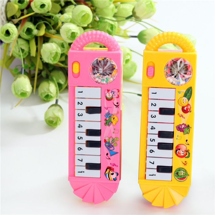 New 2015 1PC Infant Baby 0-12 Month Musical Instrument Toy Piano Keyboard Baby Kids Used Piano Music Developmental Cute Toy(China (Mainland))