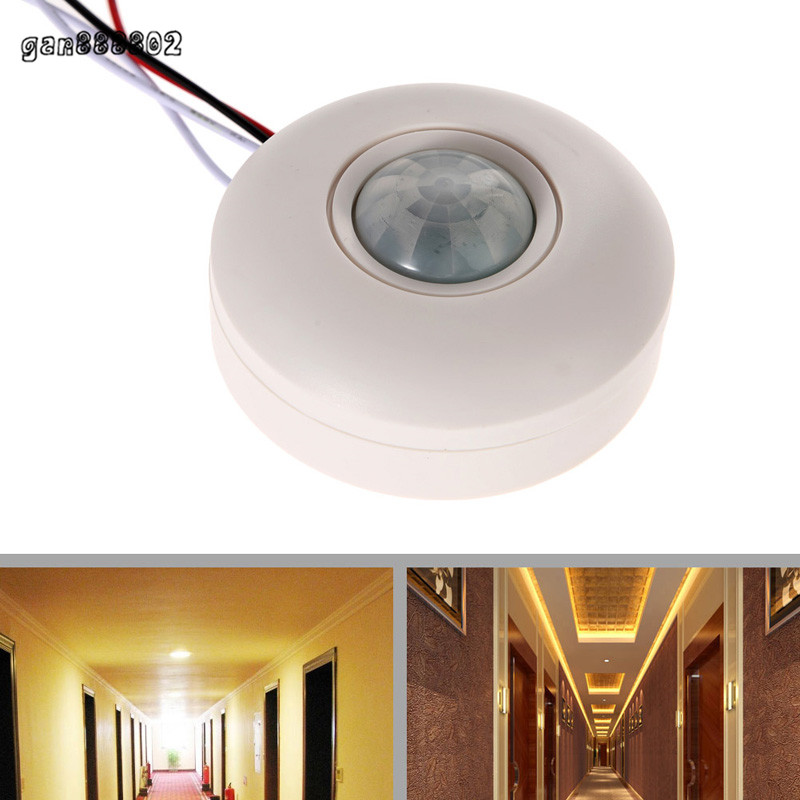 Practical IR Motion Control Lighting Automatic Sensor Light Switch Auto New(China (Mainland))