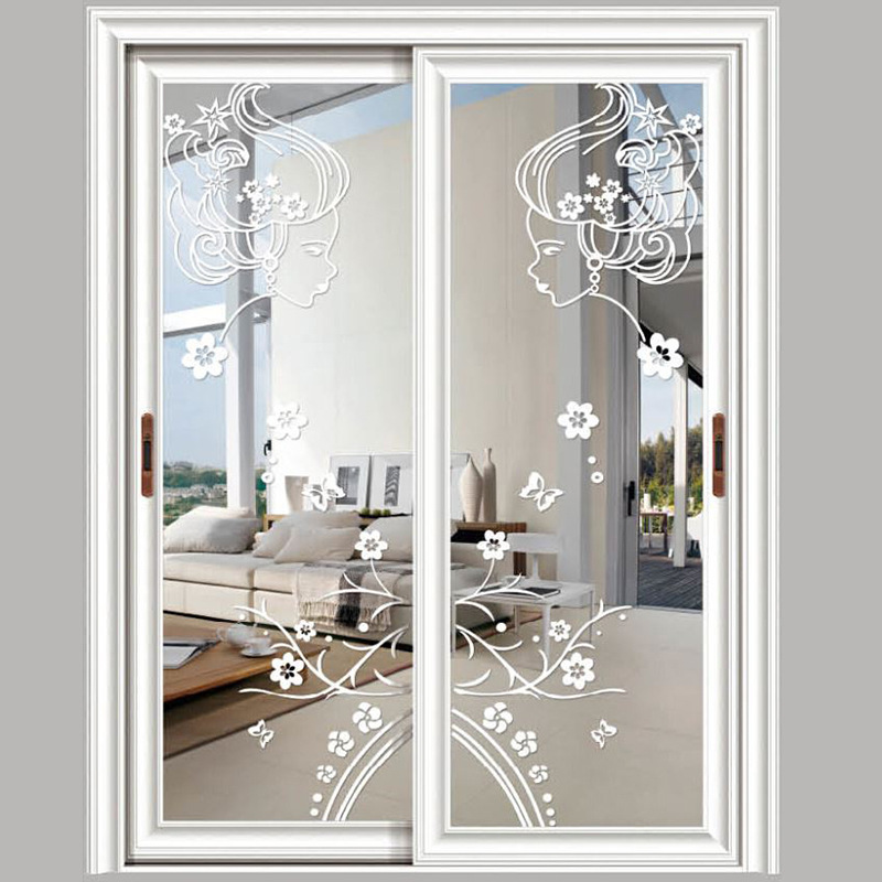 Christmas Decorations Sliding Glass Doors : High grade aluminum alloy doors and sliding balcony window