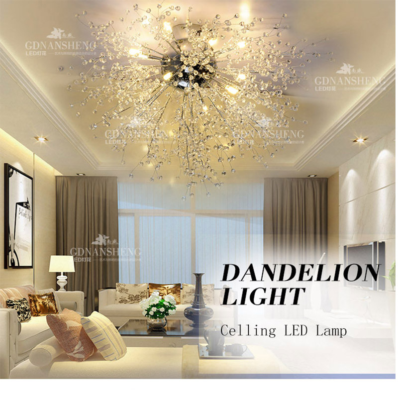Modern Led Imitate Crystal Ceiling Lights For Living Room bedroom luminaria para sala teto cristal Ceiling Lamp deckenleuchten(China (Mainland))