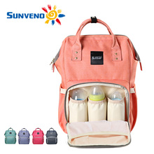 Sunveno Multi-function Mammy Bags Large Capacity Mother Backpack Baby Bag Maternity Nursing Diaper Bag Shoulder Bags(China (Mainland))
