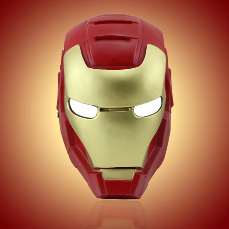 T0388 CS Iron Man Airsoft paintball Full face protector Halloween Masquerade Party cosplay mask