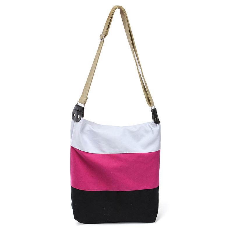 Bolso tricolor