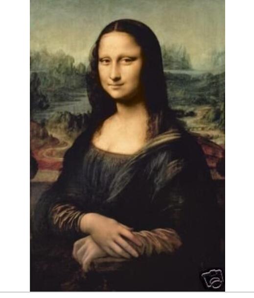 "100% handcraftsart oil painting Mona Lisa 24x36""inch(China (Mainland))"
