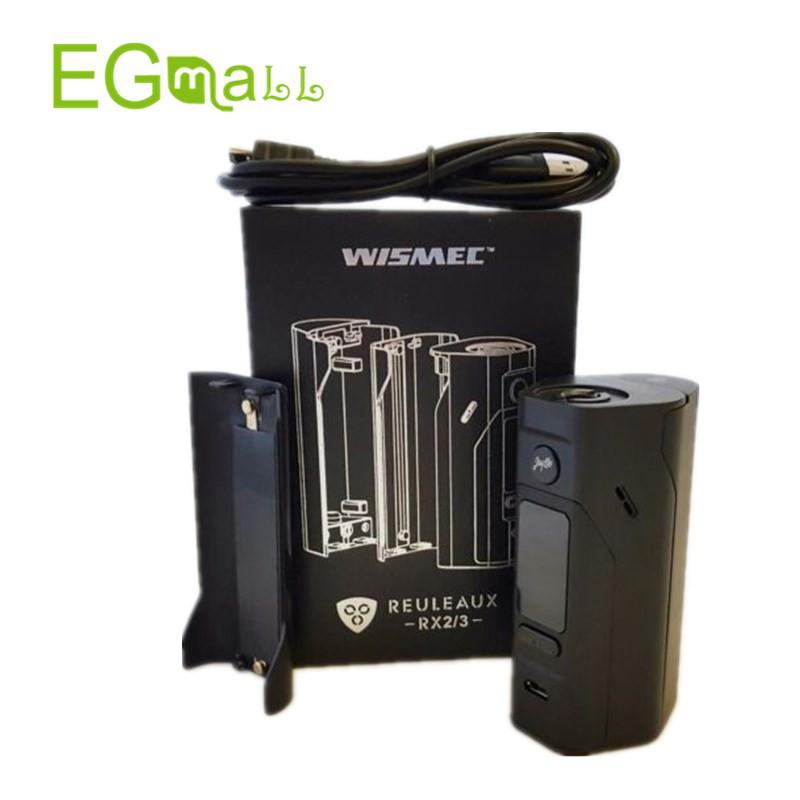 ถูก บุหรี่อิเล็กทรอนิกส์Wismec Reuleaux RX2/3 TC 150วัตต์/200วัตต์กล่องสมัยVape RX2 3 RX23 Cylin RTAถัง3.5มิลลิลิตรVaproizer VS RX 200 RX200S