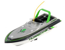 4-Channel Mini RC Boat Remote Control Toy Green(China (Mainland))