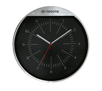 2012 brand wall clock promotional round metal wall clock