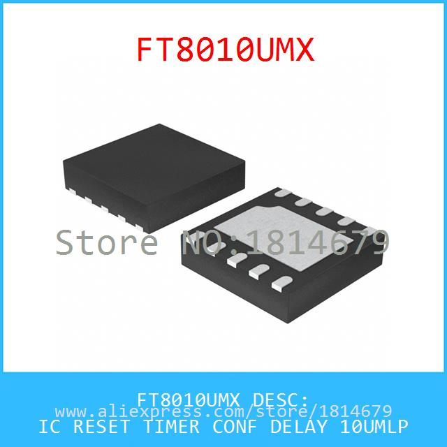 Hot Sale Smart Electronics Integrated Circuit FT8010UMX IC RESET TIMER CONF DELAY 10UMLP 8010 FT8010 3pcs(China (Mainland))