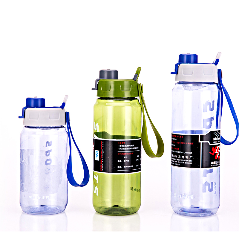 Sport Water Bottle Plastic BPA 900ml Water Bottle Plastic Tea Bottle Shaker Cup For Protein Shakes Cup Drinking Cup Portable Cup(China (Mainland))