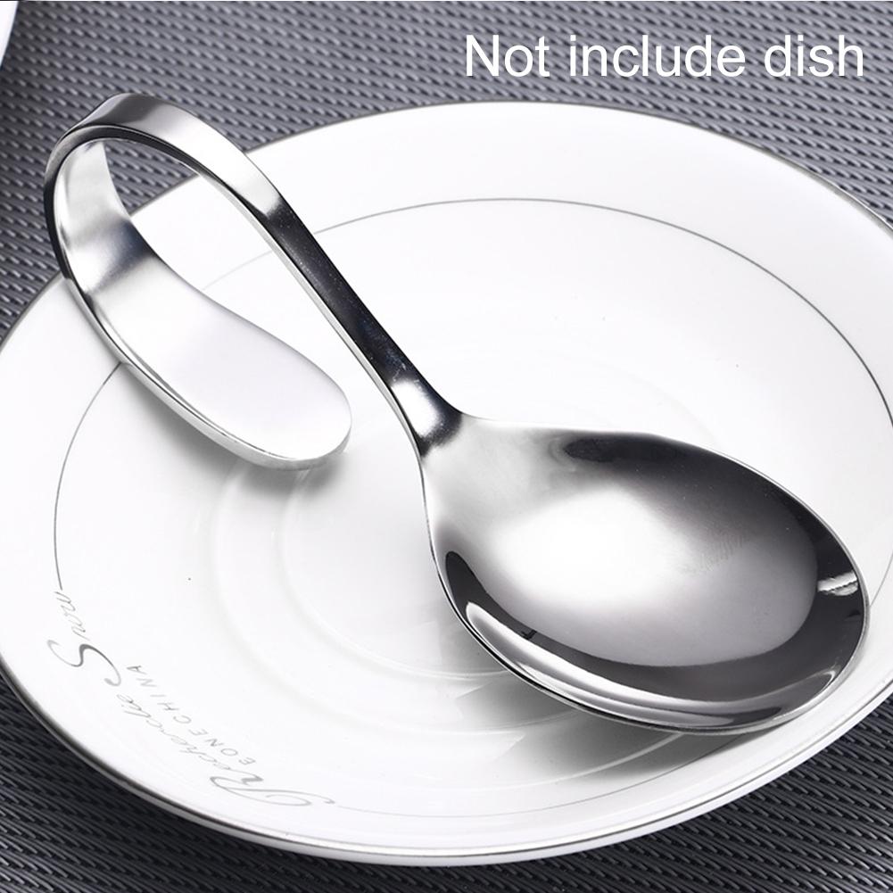 3 предмета набор висит Кухня гаджет посуда Кофе ресторанная ложка изогнутая aeProduct.getSubject()