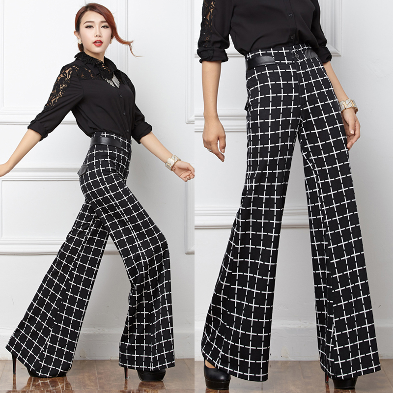 Popular Wide Leg White Trousers Winter-Buy Cheap Wide Leg White ...