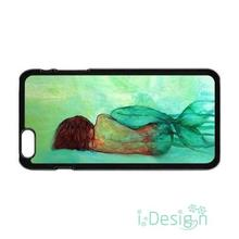 Fit for iPhone 4 4s 5 5s 5c se 6 6s 7 plus ipod touch 4/5/6 back skins cellphone case cover The Little Mermaid Back Sketch