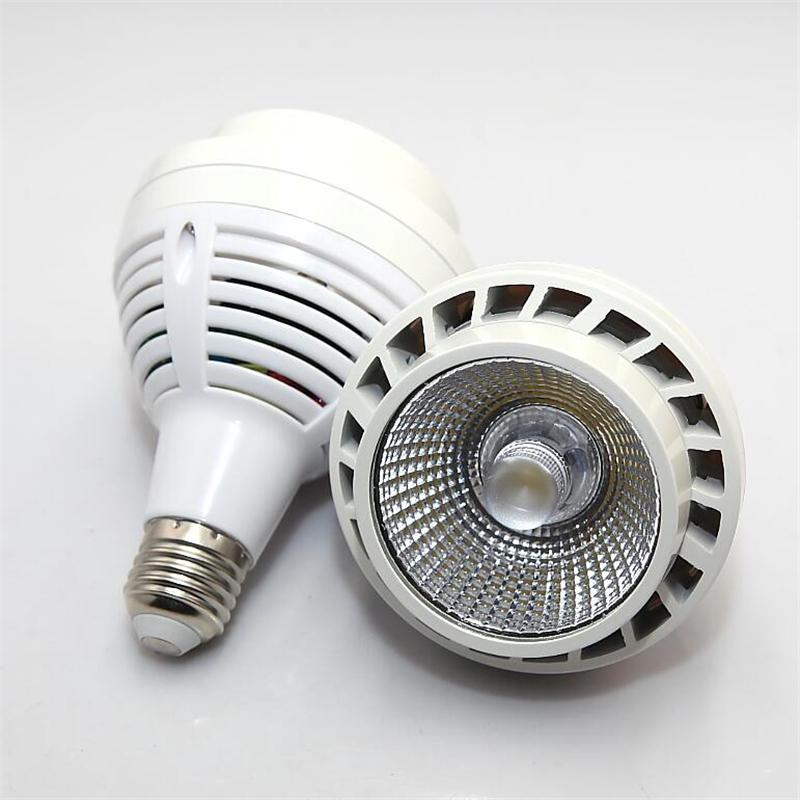 PAR 30 COB 35W E27 COB LED Spot Light Spotlight High power PAR30 lamp 85~265V CE ROHS Free shipping 3yeaes warranty(China (Mainland))