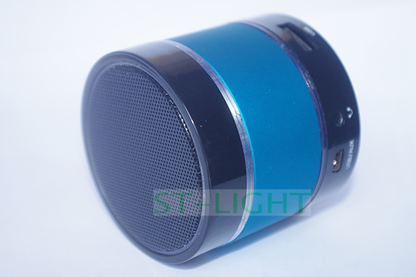 blue mini bluetooth speaker hi fi portable box of sound. Black Bedroom Furniture Sets. Home Design Ideas