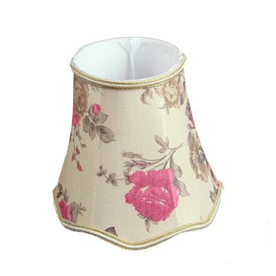 16cm Flowers Fabric small table Lamp Shades handmade chandelier shades retro luxury bedroom wall ...