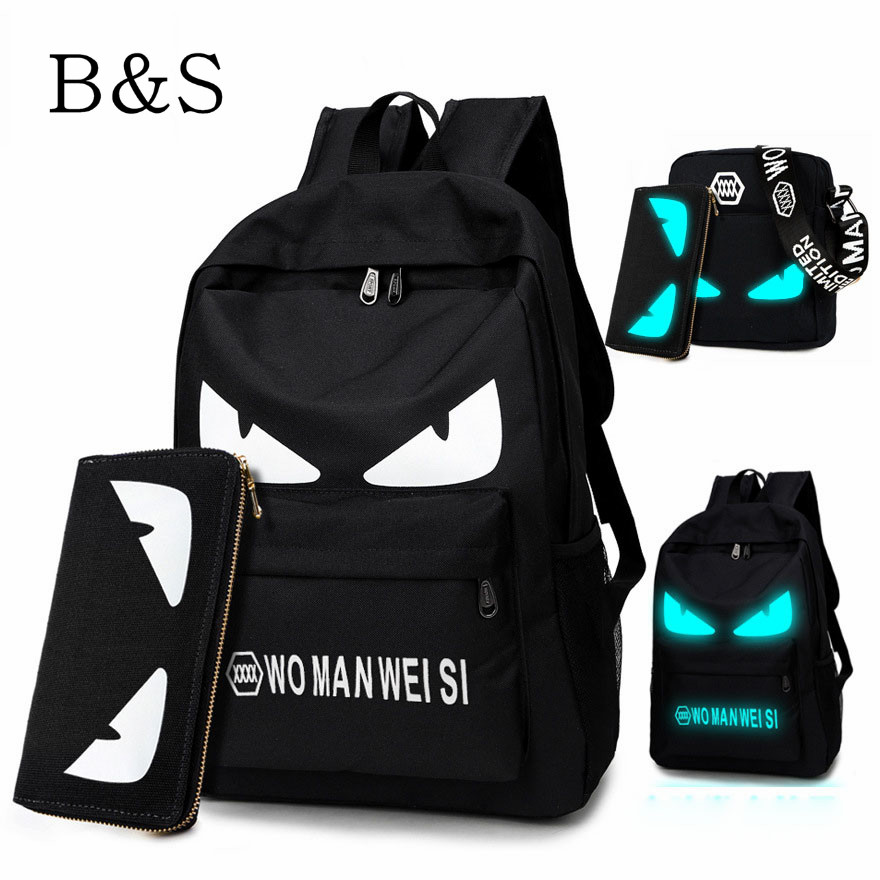 2016 Fashion Brand Oxford Anime Schoolbag For Teenage Girls Boy Popular Computer Laptop Backpack Outdoor Sport Tactical Bagpack(China (Mainland))