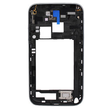 For Samsung Galaxy Note 2 N7100 Middle Frame Bezel housing Chassis Bezel Frame , New and Black color free shipping!!(China (Mainland))