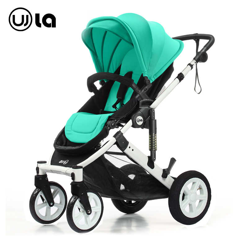 Stroller can sit can lie high landscape light folding baby carriage suspension portable baby cart WLA31(China (Mainland))