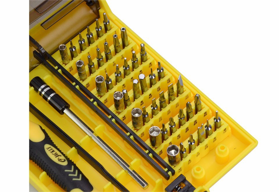 Precision 45 In 1 Electron Torx Mini Magnetic Screwdriver Tool Set hand tools Screwdrivers Kit Opening