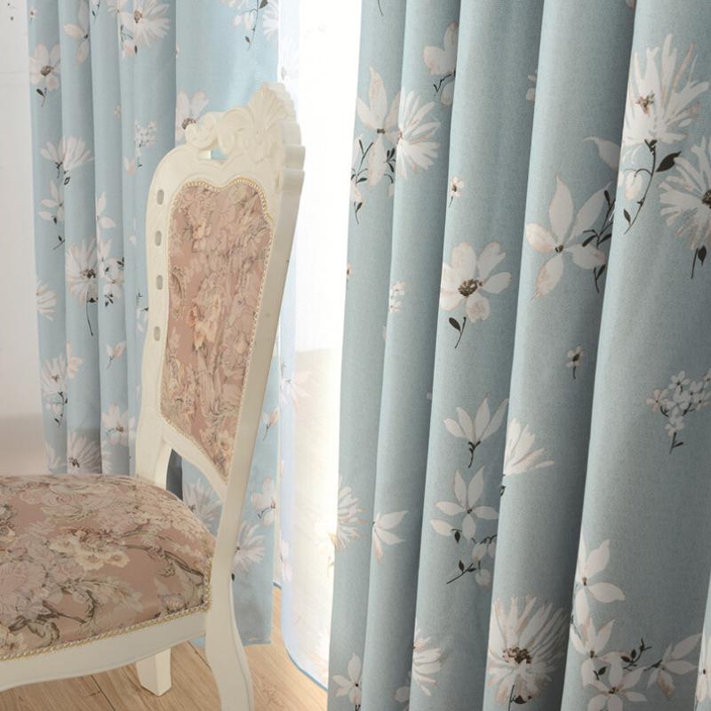 Blu tende per il salone acquista a poco prezzo blu tende - Tenda moderna soggiorno ...