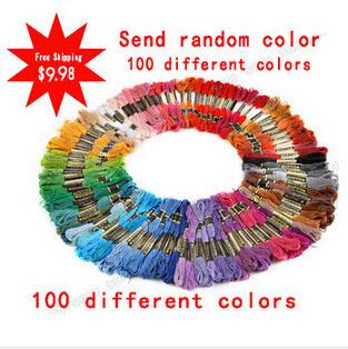 Бесплатная доставка 100 различных цветов якорь вышивка крестом хлопок вышивка темы паломник Flo