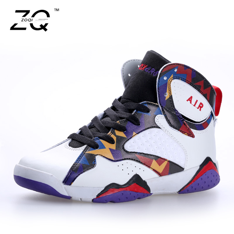 ZOQI 2016 New Mens And Wman Basketball Shoes Men Sport Shoes Woman Breathable Shoes Couple Of Shoes Size 35-44(China (Mainland))