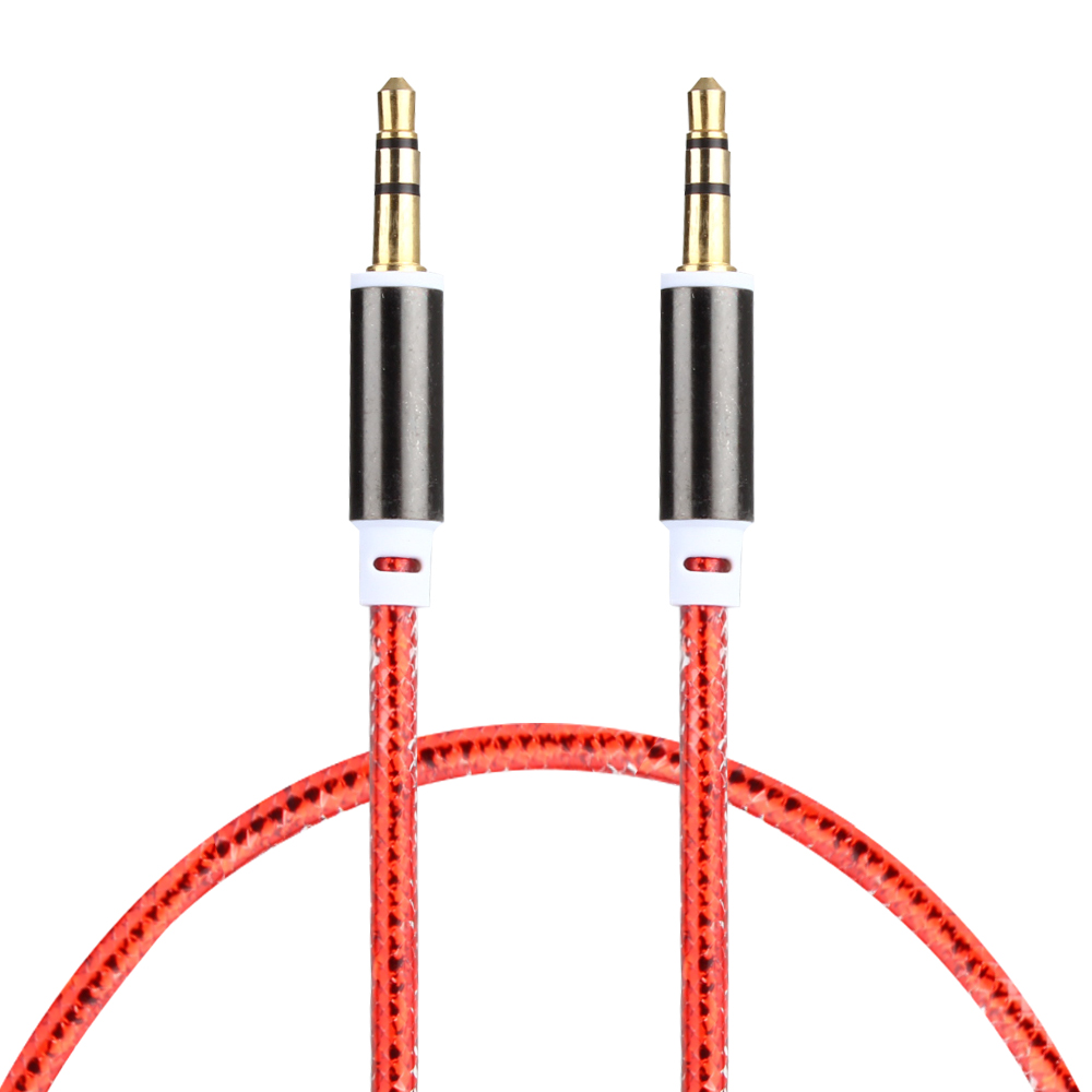 AUX Audio cable 3.5mm to 3.5 mm male to male Audio extension cable For iPhone iPod Car Headphone MP4 MP3 AUX cable(China (Mainland))