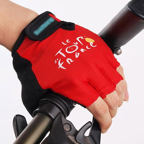 Moon ride gloves semi-finger ride mountain bike gloves outdoor sportswear