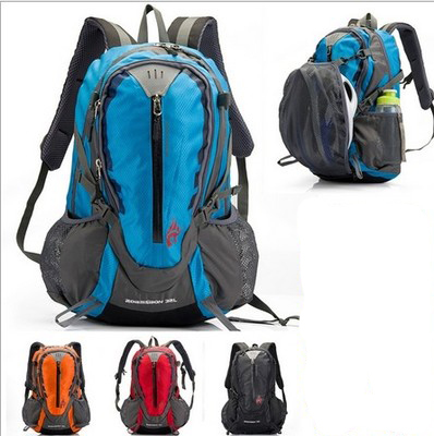2015 High Quanlity 32L Men's Backpack Waterproof Nylon Outdoor Backpack Hiking Bags Camping Sports Cycling men's travel bags(China (Mainland))